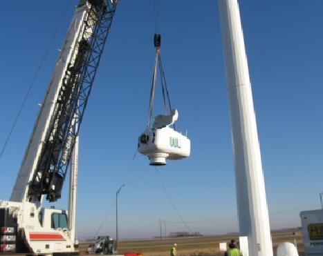 Construction of a wind turbine