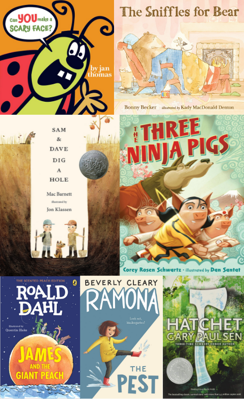 read-alouds cover collage